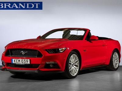 begagnad Ford Mustang GT Cabriolet 5,0 Automatvxl