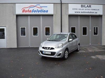 begagnad Nissan Micra 1.2 Acenta 80hk 1677 mil 1 äg