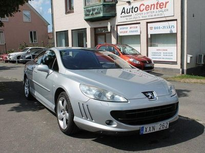 begagnad Peugeot 407 Coupe 2.7 V6 HDi Automat 204hk