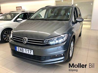 begagnad VW Touran 1,6 TDI 115 MAN 7-sits Drag V-hjul