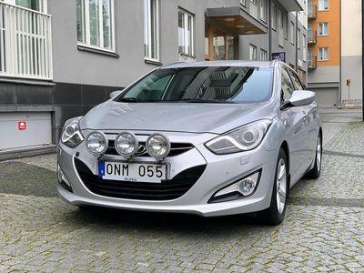 begagnad Hyundai i40 cw 1.7 CRDi 136hk 1 ÄGARE