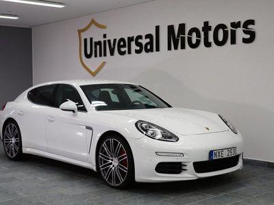 begagnad Porsche Panamera Diesel S Facelift Drag Luftf