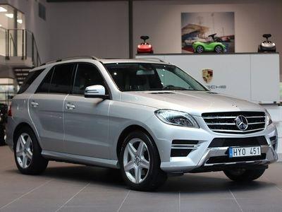 begagnad Mercedes 350 M-KlassBlueTEC 4MATIC 7G-Tronic Plus AMG Sport Euro 6 258hk