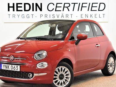 begagnad Fiat 500C 1,2 69hk Cab 3730mil