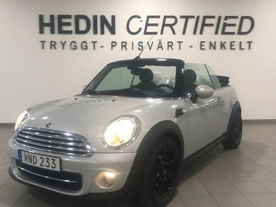 begagnad Mini Cooper Cabriolet Convertible Chili