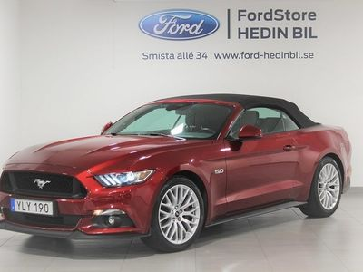begagnad Ford Mustang GT Convertible 5.0 V8 Aut 421hk -17