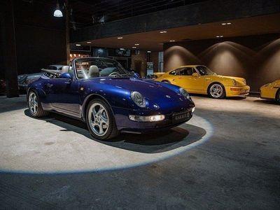 begagnad Porsche 911 Carrera 4 Cabriolet 993 286hk -96