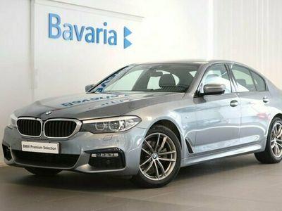 begagnad BMW 520 d xDrive Sedan M Sport Drag Värmare Backkamera Nav