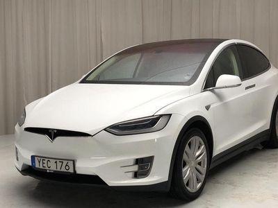 begagnad Tesla Model X 90D