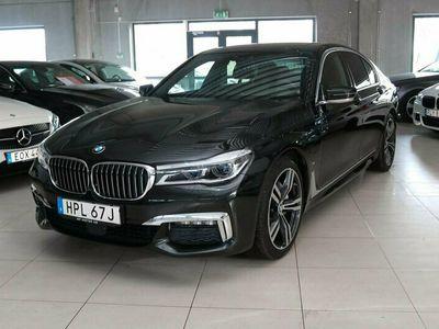 begagnad BMW 740 e 326HK M-SPORT LASER TAKLUCKA HEAD-UP SOFT CLOSE HK