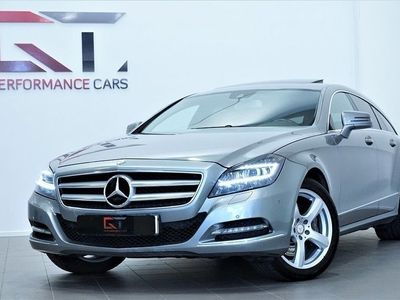 begagnad Mercedes CLS350 Shooting Brake CDI BE 4M SB AMG Kamera H&K SE UTR