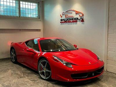 begagnad Ferrari 458 Italia 4.5 V8 DCT 570hk SV-SÅLD