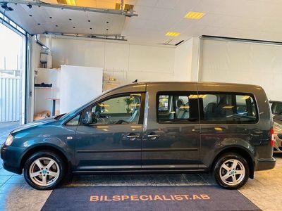 begagnad VW Caddy Maxi Life Life,1.9,TDI,DSG Automat/7-sits,105hk