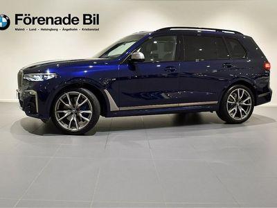 begagnad BMW X7 M50d Individual M Sport Executive Drive Pro