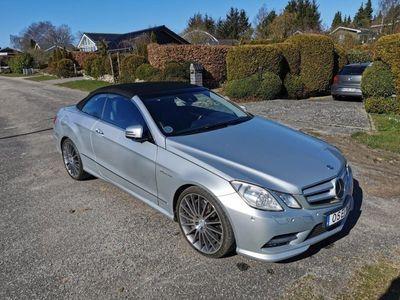 begagnad Mercedes E500 Cabriolet BlueEFFICIENCY