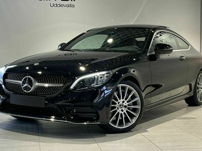begagnad Mercedes C300 - BenzCOUPÉ / / AMG / / PANORAMA / / DEMO