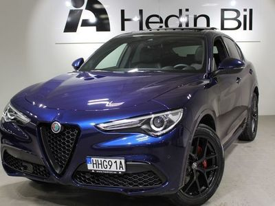 begagnad Alfa Romeo Stelvio 2.0 Turbo 280HK AWD AUT VELOCE Nya 2020 modellen