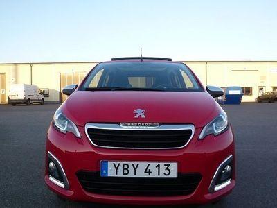 begagnad Peugeot 108 Top Soltak 2016, Halvkombi 114 900 kr