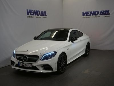 begagnad Mercedes C43 AMG AMG4M Coupé 4MATIPanoramaglastak