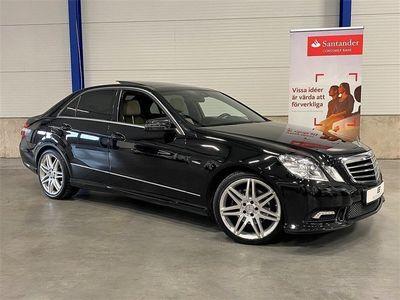 begagnad Mercedes E220 CDI 170 HK / AMG / Panorama / Aut /