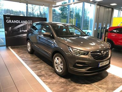 begagnad Opel Grandland X 1.2 Turbo Enjoy Euro 6 2019, SUV 209 900 kr
