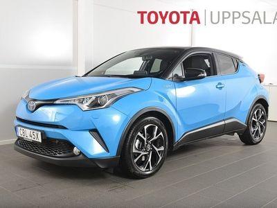begagnad Toyota C-HR 1,8 Elhybrid X-Edition Bi-tone (122hk) *Skinn* *JBL*