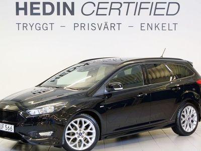 "begagnad Ford Focus 1.0T 125hk ST-line Kombi 18"" Vhjul ACC"