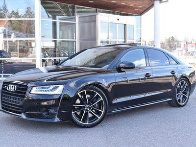 begagnad Audi S8 plus 4,0 TFSI V8 605HK MILLTEK