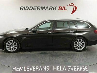 begagnad BMW 520 d xDrive Touring 190hk Pano H/K Skinn Drag M-sport ratt Eu6