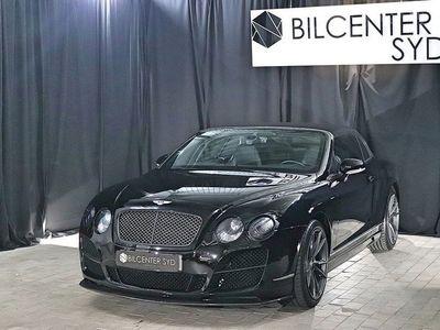 begagnad Bentley Continental GTC Kolfiberpaket W12 559hk