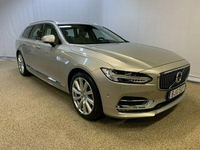 begagnad Volvo V90 D3 Inscription, ader, On call, Panoramaglastak, Parkeringskamera 360°, Harman Kardon högtalare, Navigation 2019, Kombi Pris 334 500 kr