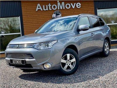 begagnad Mitsubishi Outlander P-HEV 2.0 Hybrid 4WD CVT, 203hk