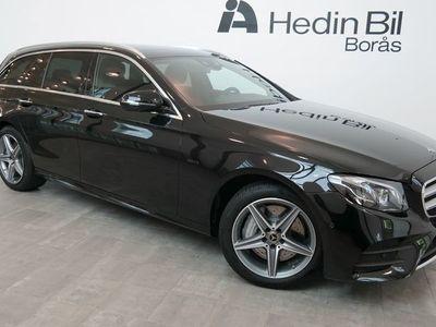 begagnad Mercedes E300 // DEMO // AMG Line // Burmester // Förarassistentpaket // Panoramataklucka //