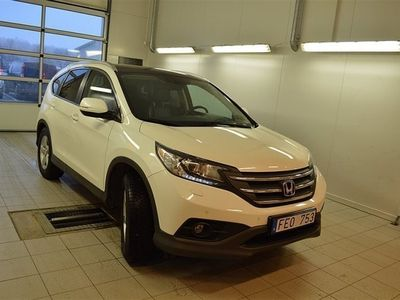 begagnad Honda CR-V 2,2 I-Detec Executive 4WD Webasto V-hjul