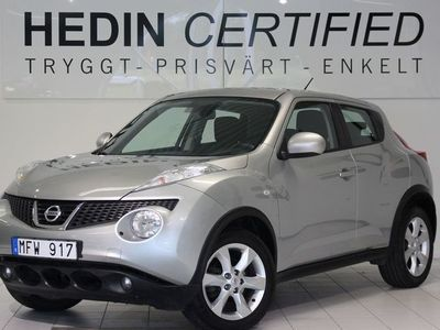 used Nissan Juke 1,6 Automat V-hjul Ny servad