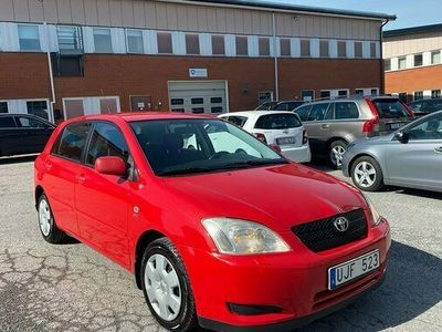 begagnad Toyota Corolla Verso Corolla 5-dörrars Halvkombi 1.6 VVT-i 2003, Kombi Pris 24 900 kr