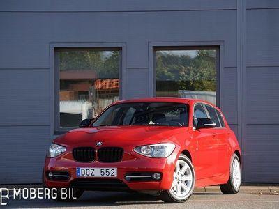 begagnad BMW 120 d 184hk Sport Line Hifi 8122MIL