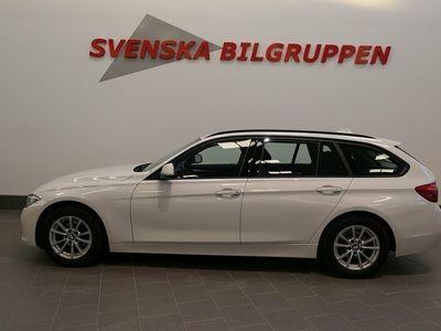 begagnad BMW 318 d Touring Steptronic Sport line Euro6 S+V-hjul