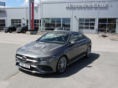 begagnad Mercedes 220 CLA-Klass4M Coupé