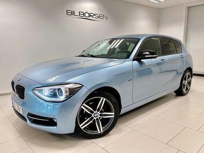 begagnad BMW 118 d Steptronic Sportline
