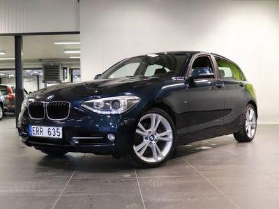 begagnad BMW 120 d xDrive 5-dörrars 1K4