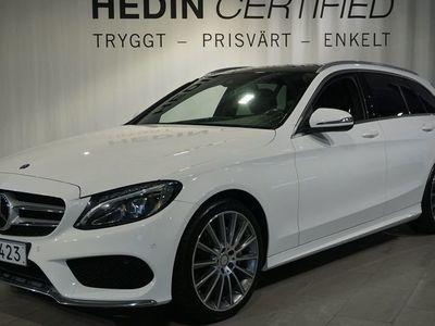 begagnad Mercedes C220 D 4MATIC // AMG-pkt // P-värmare