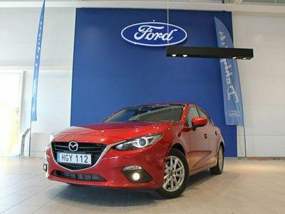 begagnad Mazda 3 Sport 2.2 150hk SKYACTIV-D (ACC,Nav,Krok,V-hjul) 5D