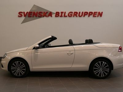 begagnad VW Eos 2.0 TDI Premium Aut Pdc D-värmare S+V hjul Ca