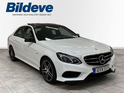 begagnad Mercedes E220 BlueTEC 4M 4matic 7G AMG