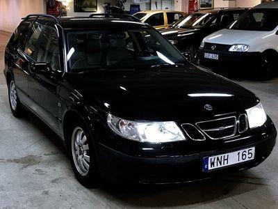 begagnad Saab 9-5 2,3T/ Auto/ Ny besiktigad/ Helläder -05