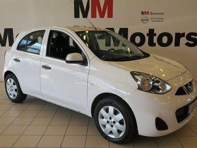 begagnad Nissan Micra 1.2 CVT AUTOMAT 1680MIL BLUETOOTH