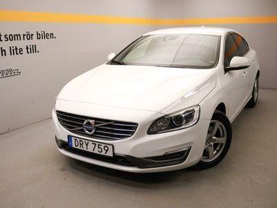 begagnad Volvo S60 D4 S/S Momentum Business E, Miljöklass EURO6, VOC m fjärrstart parkvärm