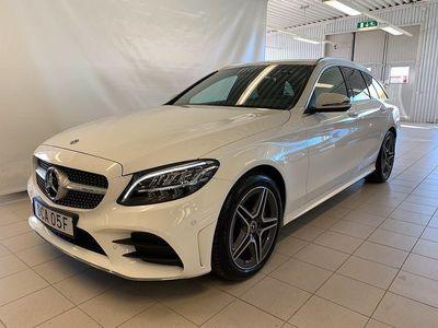 begagnad Mercedes C200 d AMG-Line