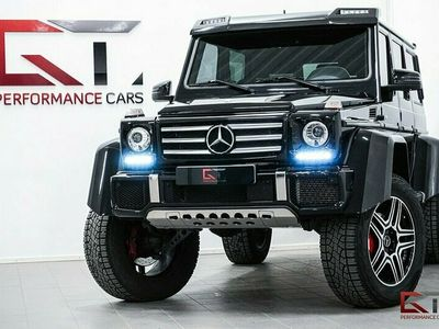 begagnad Mercedes G500 4x4² LWB Designo 421hk Sv-såld Carbon